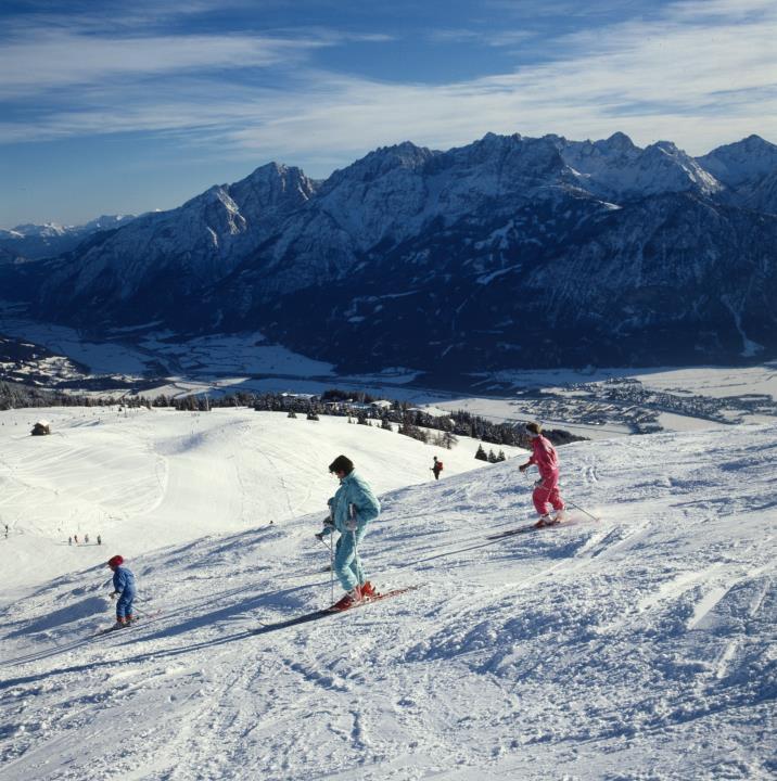 Monte Zettersfeld - Sciare