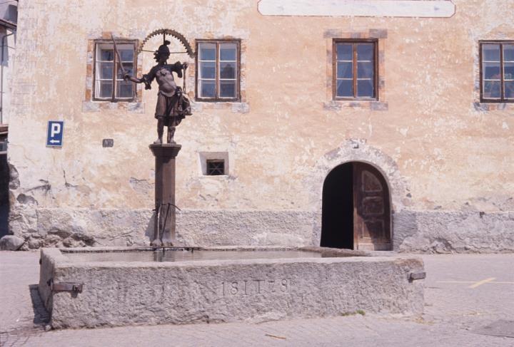 Fontana a Burgusio